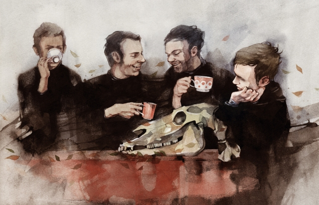Drinking-tea-eating-the-horse1